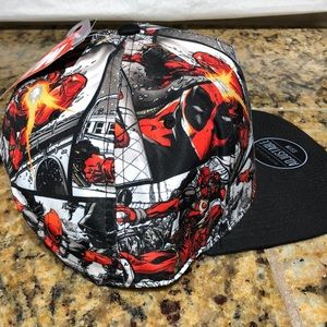 Marvel DeadPool Hat Awesome Graphics